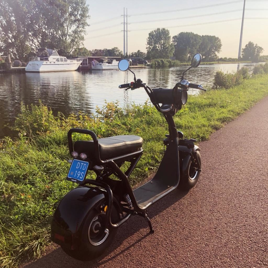 E-scooter huren in de bollenstreek.